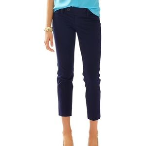 Lilly Pulitzer Twill Cropped Capris